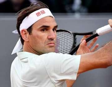 El tenista sorprendió a todos con este movimiento en un entrenamiento.