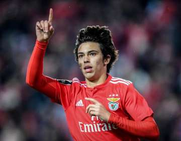 El portugués es figura del Benfica.