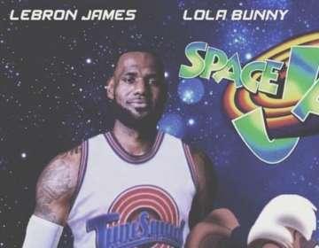 LeBron James es la gran estrella de la película.