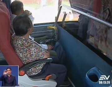 Asalto de bus en Quito