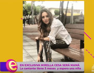 EXCLUSIVA: Mirella Cesa se convertirá en madre