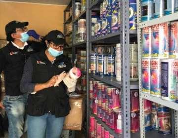 Decomisan 34 mil medicamentos sin registro sanitario en Riobamba