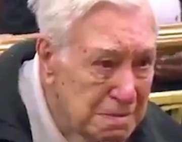 La conmovedora defensa ante el juez de un anciano