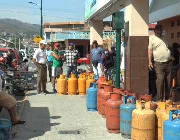 Gas doméstico en Manabí