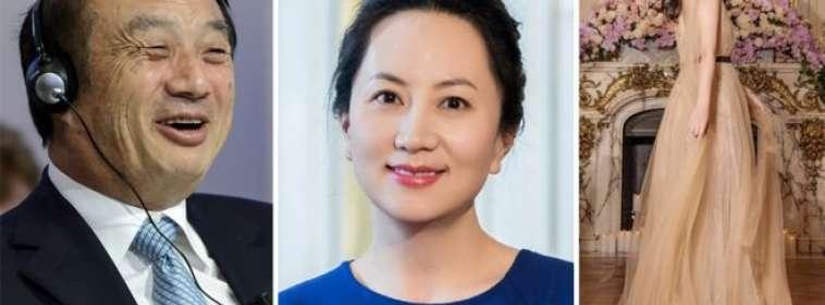 La mayoría de la dinastía dueña de Huawei se ha mantenido alejada de la luz pública.