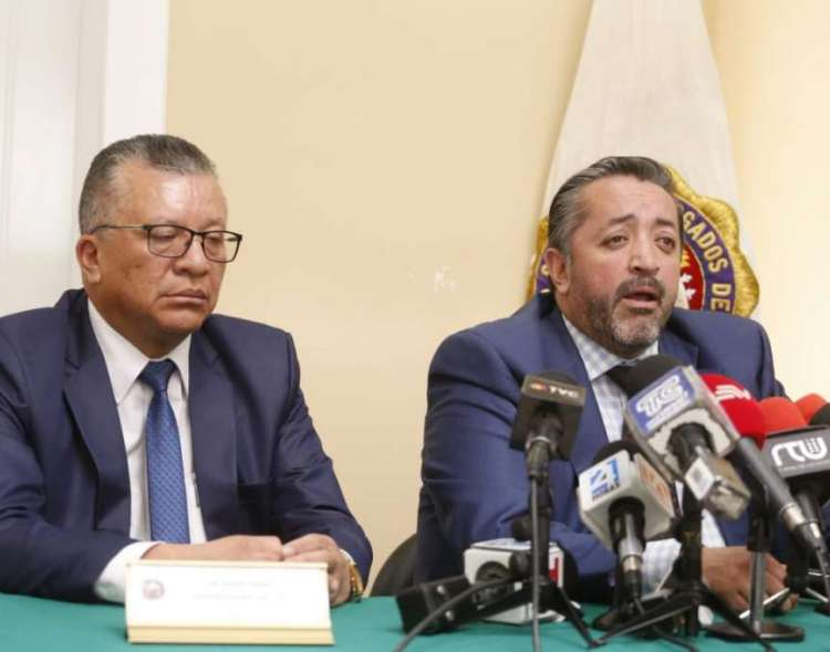QUITO, Ecuador.- Ramiro García dice que el Consejo de Participación busca jugar con la constitucionalidad. Foto: API