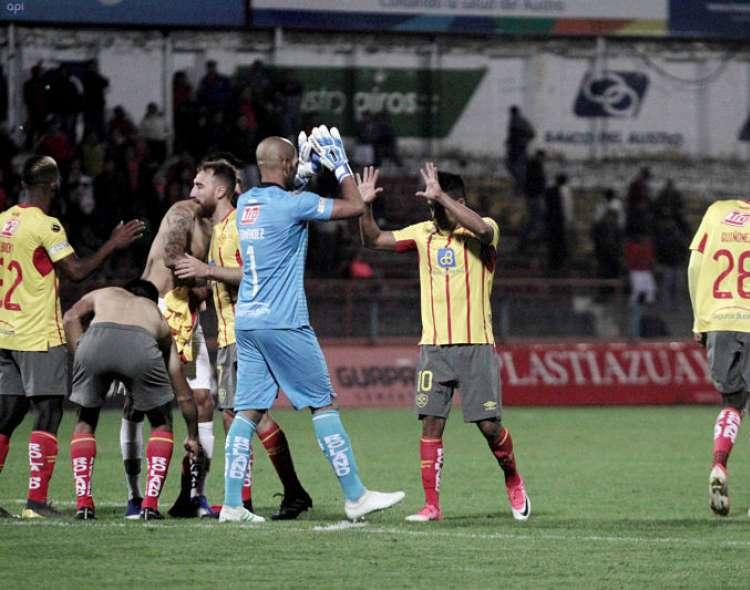 Los 'orientales' vencieron 2-1 al Deportivo Cuenca y están en el sexto puesto de la tabla. Foto: API