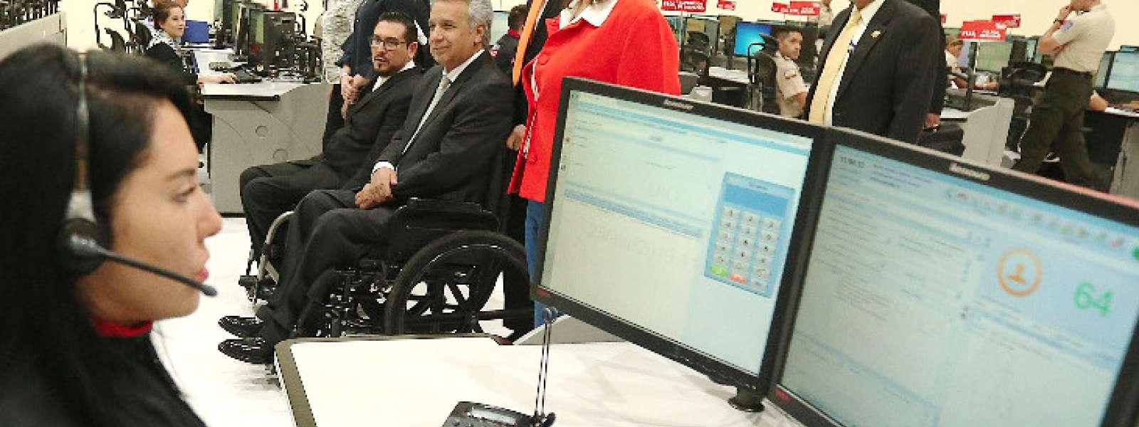 QUITO, Ecuador.- Esa tarea ha sido eliminada por este Gobierno, aseguró el primer mandatario. Foto: Secom