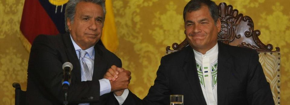 ECUADOR.- Continúan las fricciones entre los líderes del movimiento Alianza PAIS, Lenín Moreno y Rafael Correa. Foto: Archivo