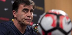Gustavo Quinteros dijo que el equipo debe ganar tres de los cuatro partidos para ir a Rusia 2018.