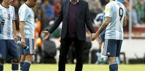 Edgardo Bauza fue despedido como director técnico del combinado de Argentina.