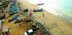 JAMA, Ecuador.- Según reporta el Instituto Geofísico, el temblor se produjo a una profundidad de 10 km. Foto: Archivo