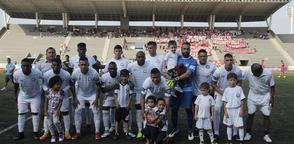 Cristhian Cruz (centro-arriba) ha sido convocado a la 'Tricolor' en amistosos. Foto: API