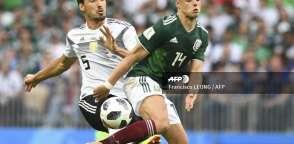 MOSCÚ, Rusia.- El defensa alemán (izquierda) sería reemplazado por Antonio Rüdiger. Foto: AFP