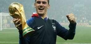 El delantero francés fue elegido el mejor del partido. Foto: Odd ANDERSEN / AFP