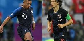 Mbappé y Modric lideran sus respectivas selecciones. Foto: internet