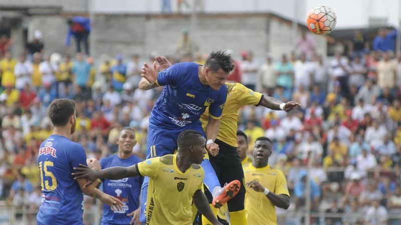 Machala vs Ecuador, jugado en el Estadio Nueve de Mayo. Fecha 18 del Campeonato Ecuatoriano 2017
