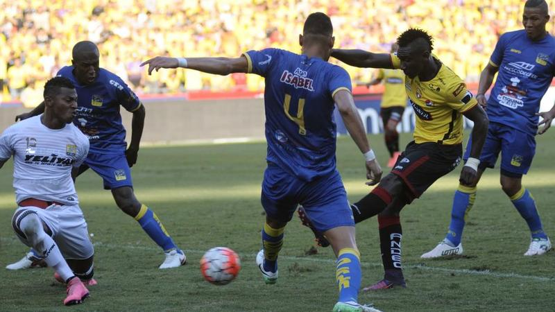 Barcelona vs Delfín, jugado en el Estadio Monumental. Campeonato Ecuatoriano 2017