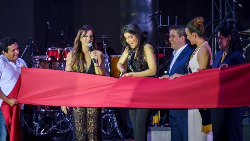 Inauguración a cargo de Daniela Cepeda, Miss Ecuador 2017 / Foto: Anthony Navarro