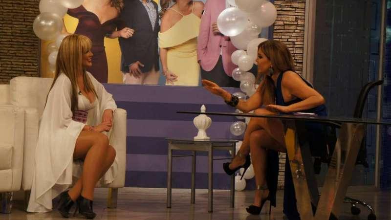 Mafer Ríos, Kristhel Chuchuca, Jannan Velasco y Samantha Grey en 'Buscando a Sharon'