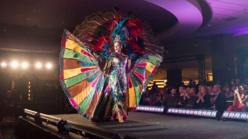 Daniela Cepeda destacó en participación del Miss Universo / Foto: AFP