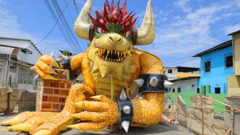 Monigotes Gigantes en el Suburbio de Guayaquil / Fotos: API
