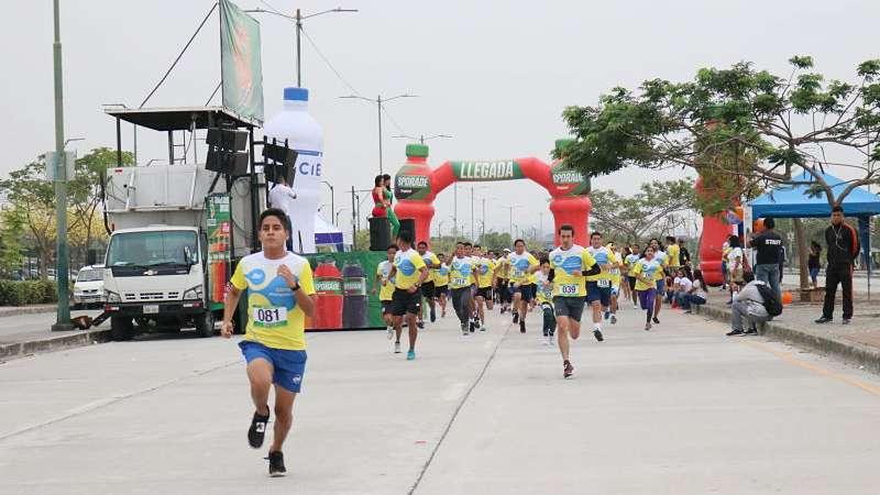 La carrera se efectuó en 3 categorías. Foto: Franklin Navarro.