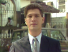 Pedro Jiménez Noboa reportero y presentador de noticias, empezó a trabajar a los 18 años en el canal y actualmente tiene 37 años en Ecuavisa. Foto: Archivo