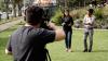 Entrevista a Jefferson Pérez en Cuenca. Foto: Visión 360