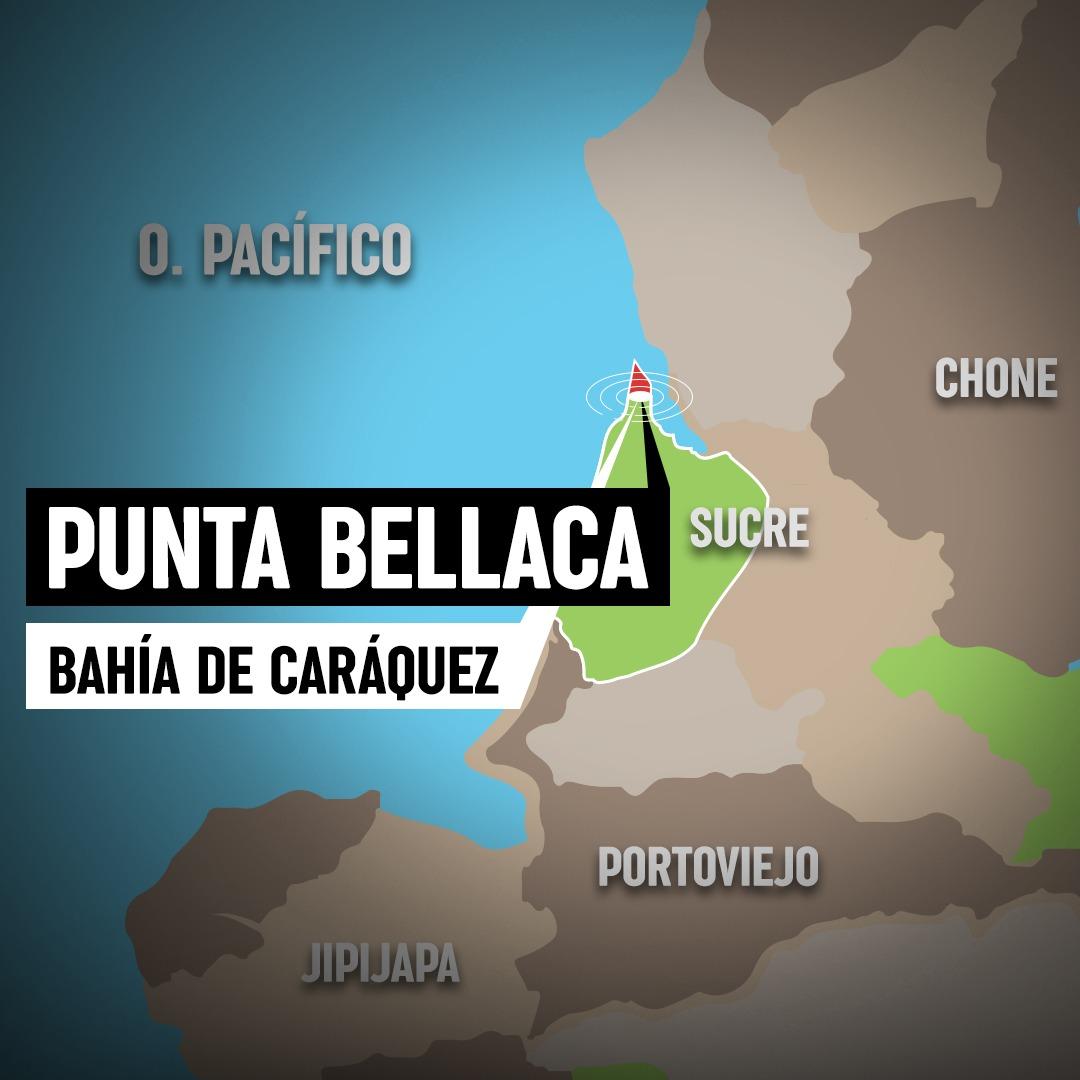 "Mapa ""Punta Bellaca""."