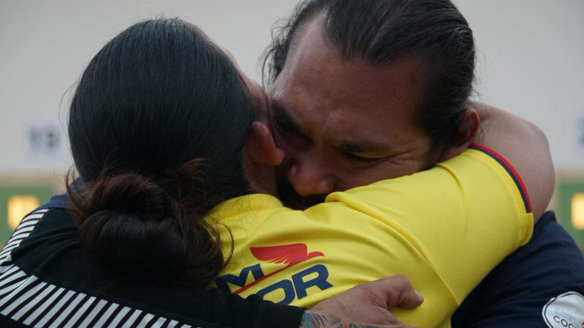 Yautung Cueva consiguió medalla de plata. Foto: COE
